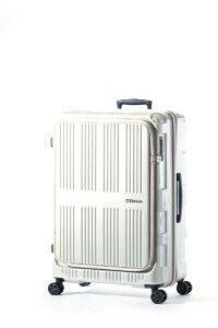 A.L.I アジア・ラゲージ スーツケース ハードキャリー 90L+12L MAXBOX(マックスボックス) パールホワイト ALI-5711 [TSAロック搭載]