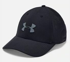 アンダーアーマー UNDER ARMOUR メンズ ゴルフキャップ UAドライバーキャップ3.0(ONESIZE:57〜60cm/Black×Pitch Gray)1328670 001