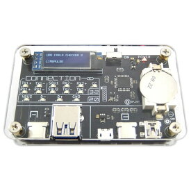 ビットトレードワン Bit Trade One USBケーブルの性能を確認できる検証デバイス USB CABLE CHECKER 2 ADUSBCIM[ADUSBCIM]