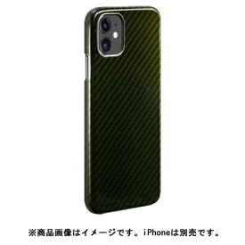 AREA エアリア MonCarbon HOVERKOAT iPhone11 フルカーボンケース HKXI02EG グリーン