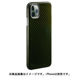 AREA エアリア MonCarbon HOVERKOAT iPhone11 ProMax フルカーボンケース HKXI03EG グリーン