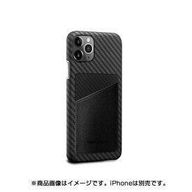 AREA エアリア MonCarbon HOVERSKIN サフィアーノ iPhone11Pro フルカーボンケース HSXI01BK ステルスブラック
