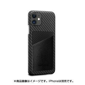 AREA エアリア MonCarbon HOVERSKIN サフィアーノ iPhone11 フルカーボンケース HSXI02BK ステルスブラック