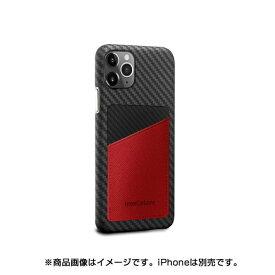 AREA エアリア MonCarbon HOVERSKIN サフィアーノ iPhone11Pro フルカーボンケース HSXI01RD レッド
