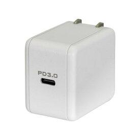 OWLTECH オウルテック USB Type-C AC充電器 最大出力18W ホワイト OWL-ACPD1C18-WH [1ポート /USB Power Delivery対応]