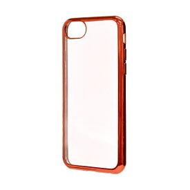 ラスタバナナ RastaBanana iPhone SE(第2世代)4.7インチ/ iPhone7/6S共用 TPUサイドメッキ 3273IP7A レッド