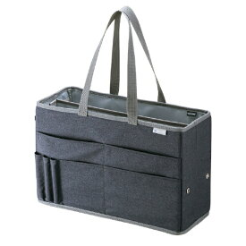 サンワサプライ SANWA SUPPLY ノートパソコン対応[〜15.6インチ] テレワークミーティングバッグ BAG-TW2GY グレー[BAGTW2GY]