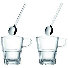 Leonardo レオナルド コーヒーカップ&スプーン 2個セット Senso 24023[24023]