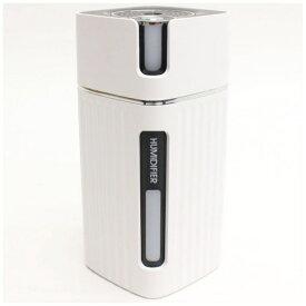 ヒロコーポレーション DLJSQ19038-2 ピラー型USB充電式ミニ加湿器 URUPILLAR ホワイト [300mL]