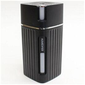 ヒロコーポレーション HIRO CORPORATION ピラー型USB充電式ミニ加湿器 URUPILLAR ブラック DLJSQ19038-2 [超音波式]