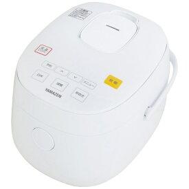ヤマゼン YAMAZEN YJF-M30CC-W 炊飯器 糖質を減らせるマイコン炊飯器 [3合 /マイコン][YJFM30CC]
