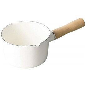 パール金属 PEARL METAL ブランキッチン ホーローミルクパン HB-4440 ホワイト [12cm][HB4440]