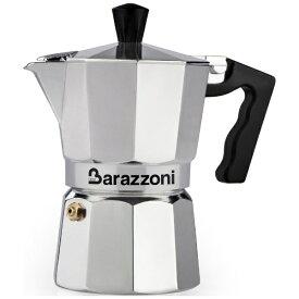 Barazzoni バラゾーニ 830005506 直火用 エスプレッソコーヒーメーカー 6カップ La Caffettiera[830005506]