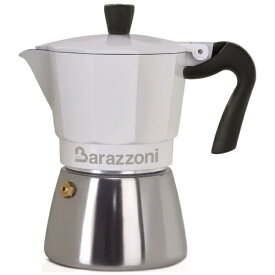 Barazzoni バラゾーニ 830005106 IH/直火 エスプレッソコーヒーメーカー 6カップ Bianca Ibrida[830005106]