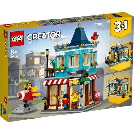 レゴジャパン LEGO 31105 クリエーター タウンハウス おもちゃ屋さん