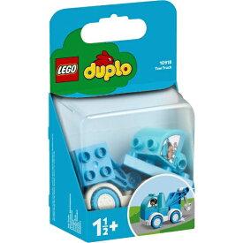 レゴジャパン LEGO 10918 デュプロ はじめてのデュプロ みずいろのレッカー車