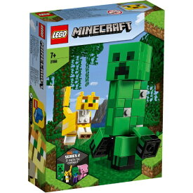 レゴジャパン LEGO 21156 マインクラフト ビッグフィグ クリーパーとヤマネコ[レゴブロック]