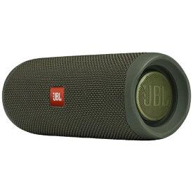 JBL ジェイビーエル ブルートゥース スピーカー JBLFLIP5GREN グリーン [Bluetooth対応 /防水][JBLFLIP5GREN]【point_rb】