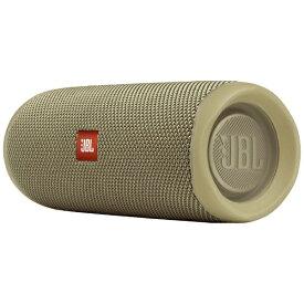 JBL ジェイビーエル ブルートゥース スピーカー Flip 5 サンド JBLFLIP5SAND [Bluetooth対応 /防水][JBLFLIP5SAND]【point_rb】
