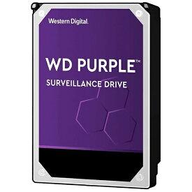 WESTERN DIGITAL ウェスタン デジタル WesternDigital Purple SATA6G 接続 ハードディスク 8TB WD82PURZ[WD82PURZ]【バルク品】
