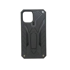 アクロス ACROSS iPhone11 Pro Max 耐衝撃ケース AIC-ANTI65BK09 ブラック