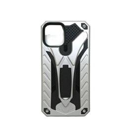 アクロス ACROSS iPhone11 Pro Max 耐衝撃ケース AIC-ANTI65SV10 シルバー