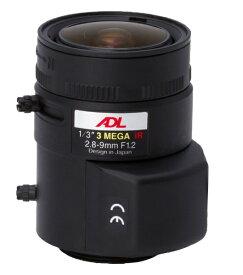東邦技研 TOHO-GIKEN 防犯カメラ用バリフォーカルレンズ2.8〜9.0mm