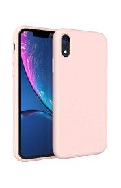 UI ユーアイ motomo Alpha Slim シリコンケース iPhoneXR ベビーピンク