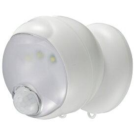 オーム電機 OHM ELECTRIC 360センサーライト LS-BH11SH4-W ホワイト