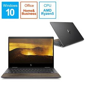 HP エイチピー 8VZ55PA-AAAA ノートパソコン ENVY x360 13-ar0105TU-OHB ナイトフォールブラック & ナチュラルウォールナット [13.3型 /AMD Ryzen 5 /SSD:512GB /メモリ:8GB /2019年12月モデル][13.3インチ office付き 新品 windows10 8VZ55PAAAAA]