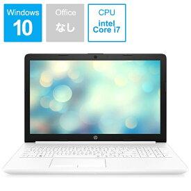 HP エイチピー 9AK25PA-AAAA ノートパソコン 15-da2026TX ピュアホワイト [15.6型 /intel Core i7 /HDD:1TB /SSD:128GB /メモリ:8GB /2019年12月モデル][15.6インチ 新品 Windows10][9AK25PAAAAA]