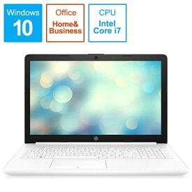 HP エイチピー 9AK25PA-AAAB ノートパソコン 15-da2026TX-OHB ピュアホワイト [15.6型 /intel Core i7 /HDD:1TB /SSD:128GB /メモリ:8GB /2019年12月モデル][15.6インチ office付き 新品 windows10]