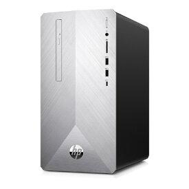 HP エイチピー 6DW08AA-AAMA デスクトップパソコン Pavilion Desktop 595-p0101jp ブラッシュドシルバー [モニター無し /HDD:2TB /SSD:256GB /メモリ:8GB /2019年12月モデル][本体のみ 新品 windows10 6DW08AAAAMA]