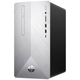 HP ヒューレット・パッカード 6DW08AA-AAMB デスクトップパソコン Pavilion Desktop 595-p0101jp-OHB ブラッシュドシルバー [モニター無し /HDD:2TB /SSD:256GB /メモリ:8GB /2019年12月モデル][6DW08AAAAMB]