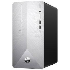 HP エイチピー 6DW32AA-AASP デスクトップパソコン Pavilion Desktop 595-p0105jp-OHB ブラッシュドシルバー [モニター無し /intel Core i7 /メモリ:16GB /HDD:2TB /SSD:256GB /2019年12月モデル][本体のみ office付き 新品 windows10][6DW32AAAASP]