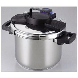 パール金属 PEARL METAL 3層底1タッチレバー圧力鍋 5.5L H-5389[H5389]