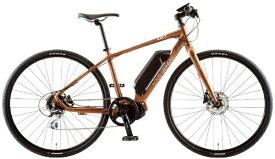 ルイガノ 【eバイク】700x35C型 電動アシストクロスバイク AVIATOR-E(LG MATTE BRONZE/420サイズ/外装8段変速)【組立商品につき返品不可】 【代金引換配送不可】