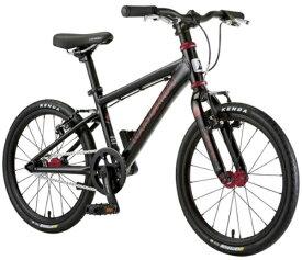 ルイガノ 18型 子供用自転車 K18 ADVANCED(LGBLACK/シングルシフト)【組立商品につき返品不可】 【代金引換配送不可】