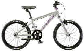 ルイガノ 18型 子供用自転車 K18 ADVANCED(SPARKLE SILVER/シングルシフト)【組立商品につき返品不可】 【代金引換配送不可】