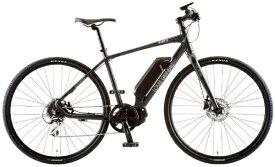 ルイガノ 【eバイク】700x35C型 電動アシストクロスバイク AVIATOR-E(LG MATTE GRAPHITE/420サイズ/外装8段変速)【組立商品につき返品不可】 【代金引換配送不可】