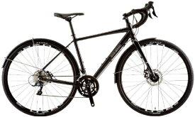 ルイガノ 700x35C型 ロードバイク MULTIWAY700(LG MATTE GRAPHITE/フレームサイズ490/外装9段変速)【組立商品につき返品不可】 【代金引換配送不可】