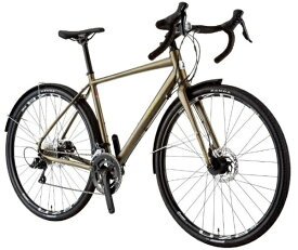ルイガノ 700x35C型 ロードバイク MULTIWAY700(LG MATTE KHAKI/フレームサイズ490/外装9段変速)【組立商品につき返品不可】 【代金引換配送不可】