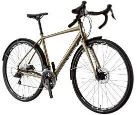 ルイガノ 700x35C型 ロードバイク MULTIWAY700(LG MATTE KHAKI/フレームサイズ530/外装9段変速)【組立商品につき返品不可】 【代金引換配送不可】