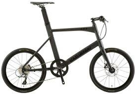 ルイガノ 20型 自転車 EASEL ADVANCED3(LG MATTE BLACK/500サイズ/外装8段変速)【組立商品につき返品不可】 【代金引換配送不可】