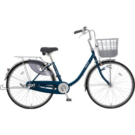 丸石サイクル 24型 自転車 escort エスコート(エナメルネイビー/シングルシフト)ESLP24J BL02E【組立商品につき返品不可】 【代金引換配送不可】