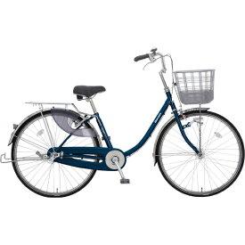 丸石サイクル 26型 自転車 escort エスコート(エナメルネイビー/3段変速)ESLP263J BL02E【組立商品につき返品不可】 【代金引換配送不可】