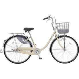 丸石サイクル 26型 自転車 escort エスコート(アイボリー/3段変速)ESLP263J W50P【組立商品につき返品不可】 【代金引換配送不可】