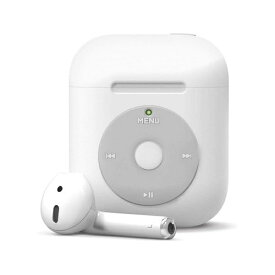 ELAGO エラゴ elago エラゴ AW6 CASE for AirPods /AirPods 2nd Charging / AirPods 2nd Wireless (White) ホワイト EL_APACSSC6B_WH