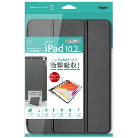 ナカバヤシ Nakabayashi 10.2インチ iPad(第7世代)用 ハニカム衝撃吸収ケース TBC-IP1904BK ブラック