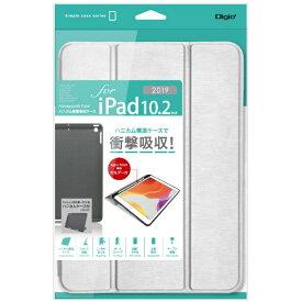 ナカバヤシ Nakabayashi 10.2インチ iPad(第7世代)用 ハニカム衝撃吸収ケース TBC-IP1904SL シルバー
